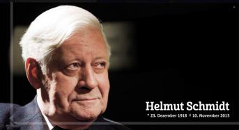 Mittwoch, 11. November: Hamburg auf Halbmast. Trauer um Helmut Schmidt