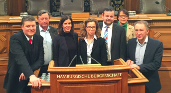 Freitag, 17. März: Streit um Luft, Bürgerschaft wird zum Reichstag, HSV feuert Vorstand, Lego auf See